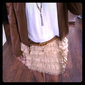 J.Crew layered skirt